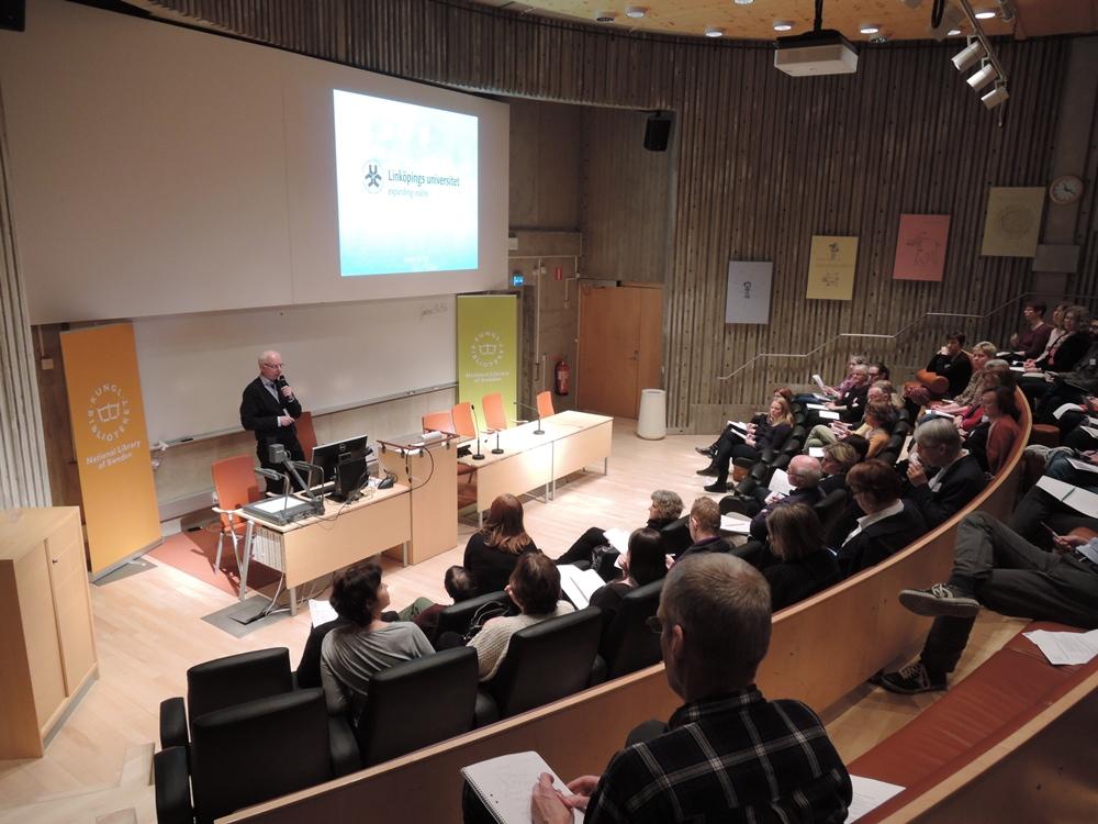Bo Jernberg pratar om QR-koder