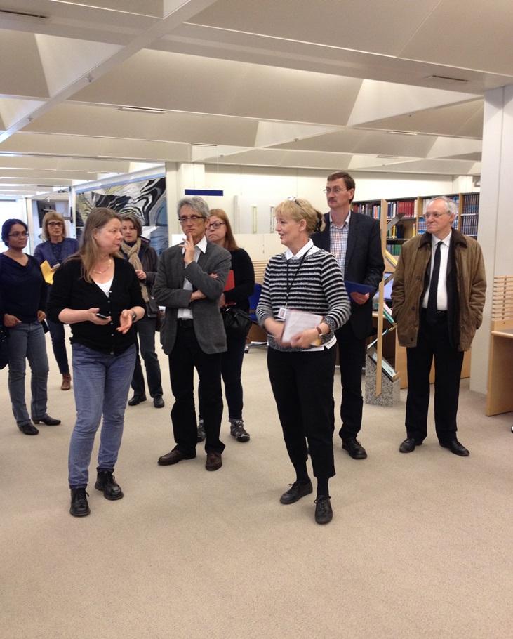 Visning av Islands nationalbibliotek för EDUG medlemmar.